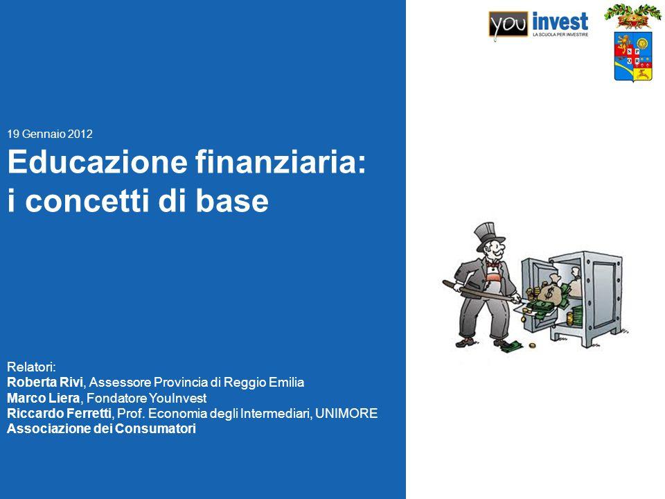 Educazione finanziaria: i concetti di base