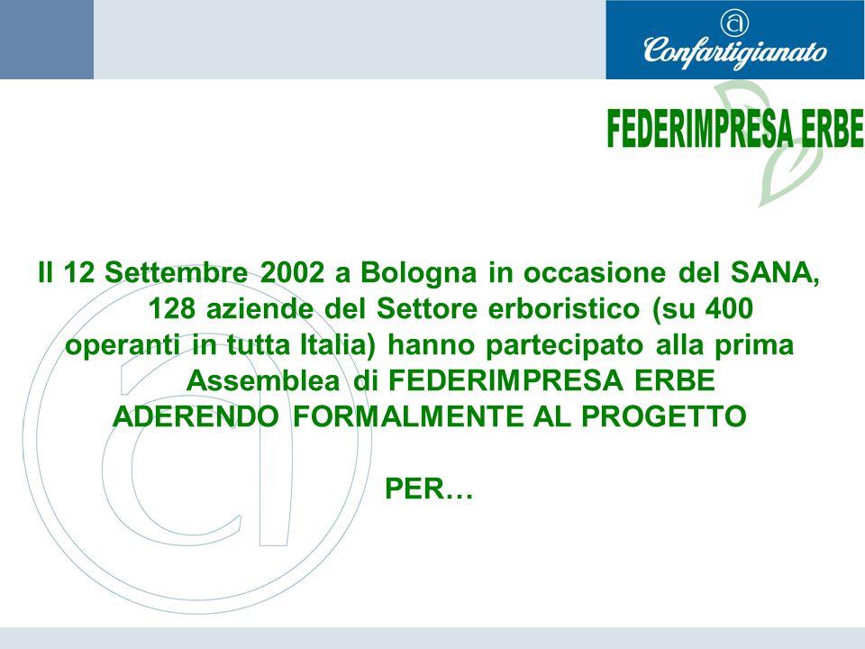 ADERENDO FORMALMENTE AL PROGETTO
