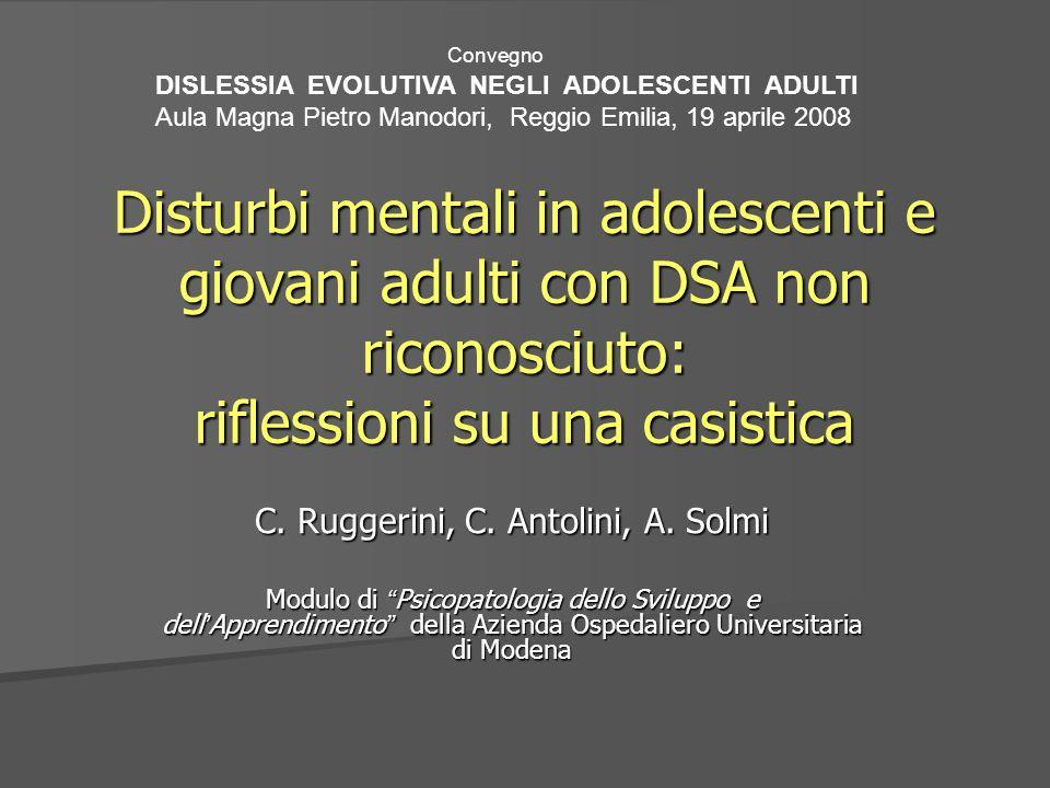 C. Ruggerini, C. Antolini, A. Solmi