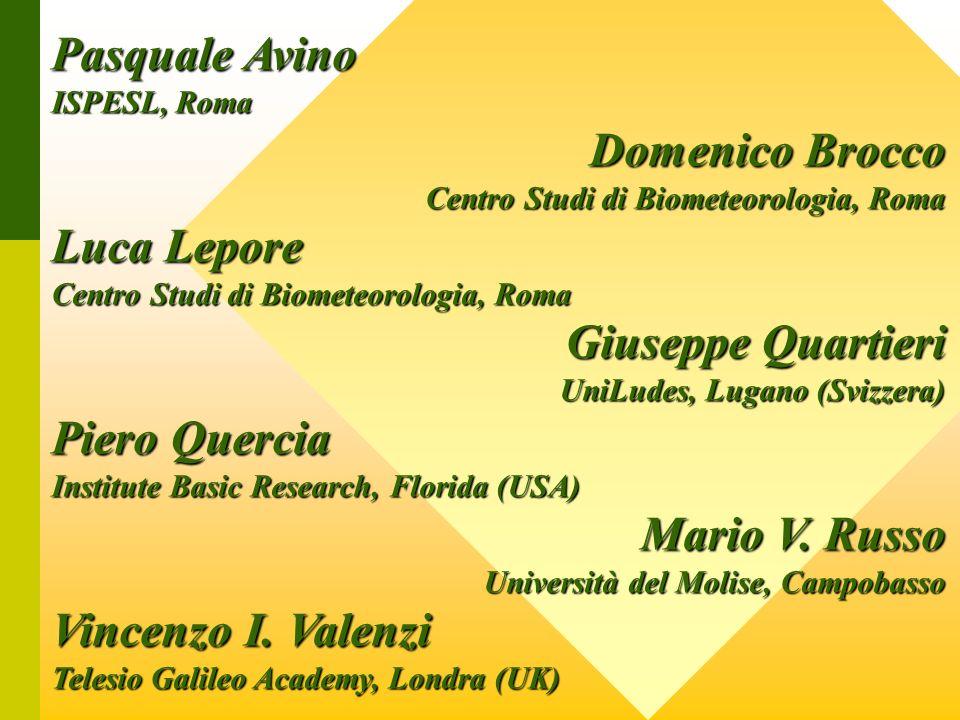 Pasquale Avino Domenico Brocco Luca Lepore Giuseppe Quartieri