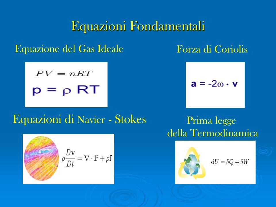 Equazioni Fondamentali