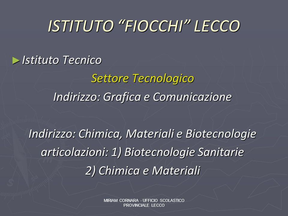 ISTITUTO FIOCCHI LECCO