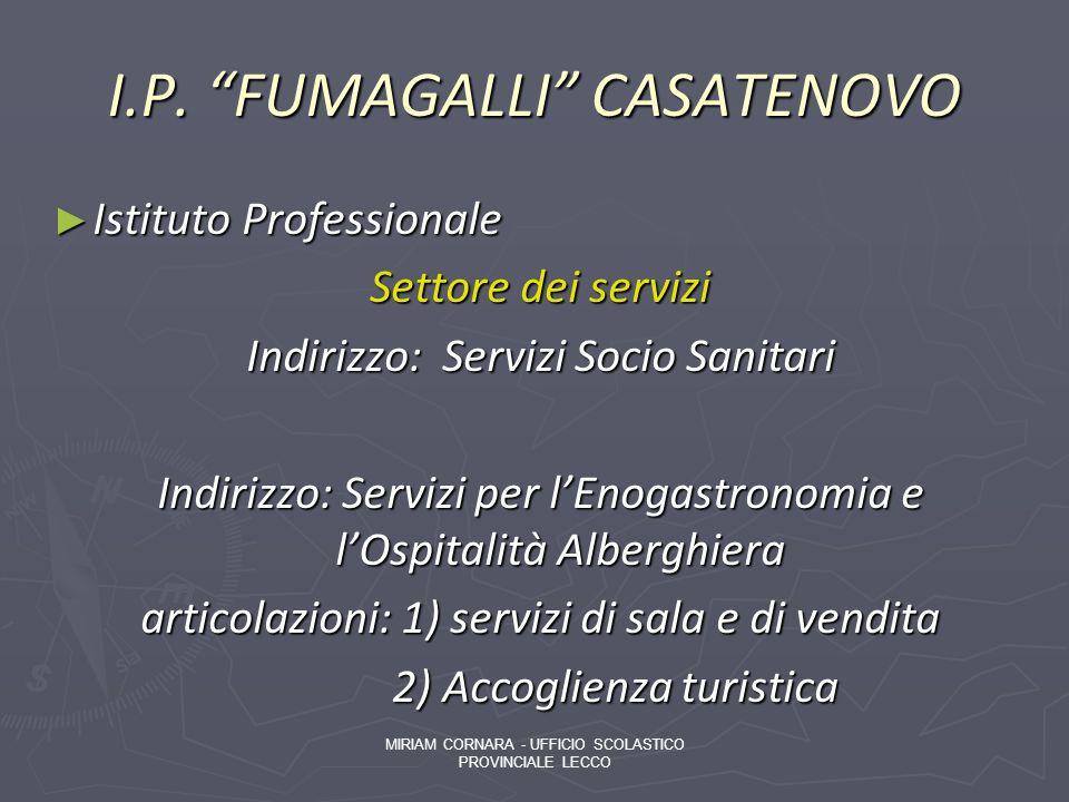I.P. FUMAGALLI CASATENOVO