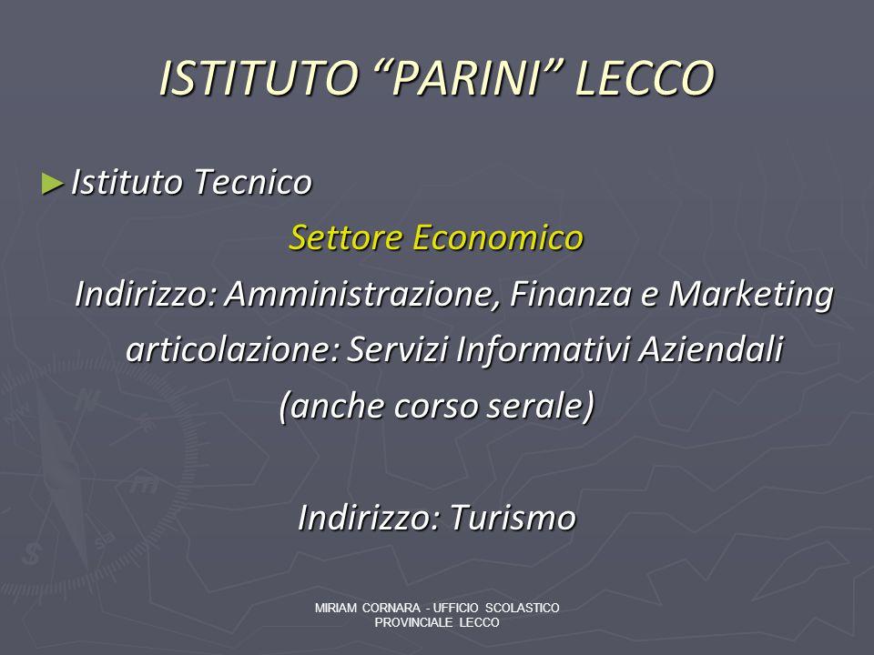 ISTITUTO PARINI LECCO