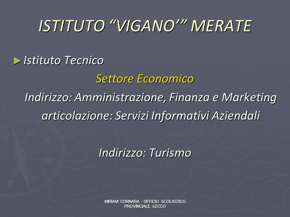 ISTITUTO VIGANO' MERATE