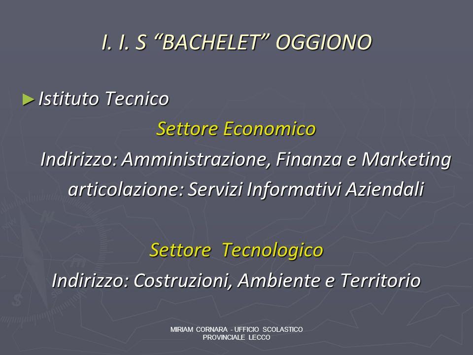 I. I. S BACHELET OGGIONO