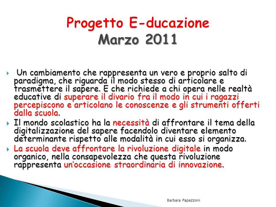 Progetto E-ducazione Marzo 2011