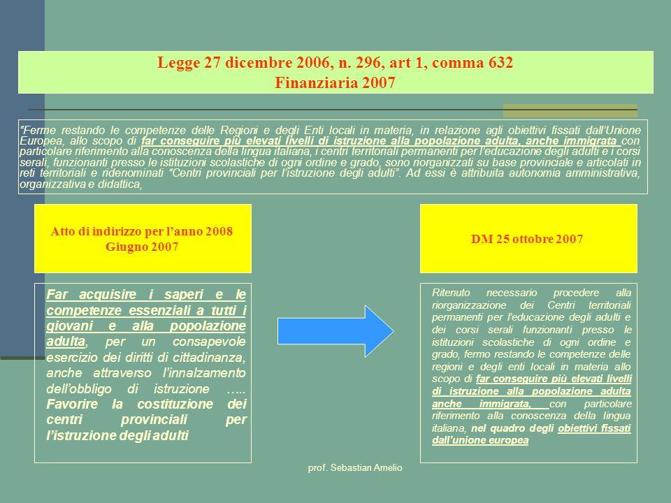 Legge 27 dicembre 2006, n. 296, art 1, comma 632 Finanziaria 2007