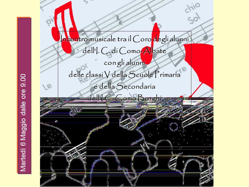 Incontro musicale tra il Coro degli alunni dell I. C. di Como-Albate