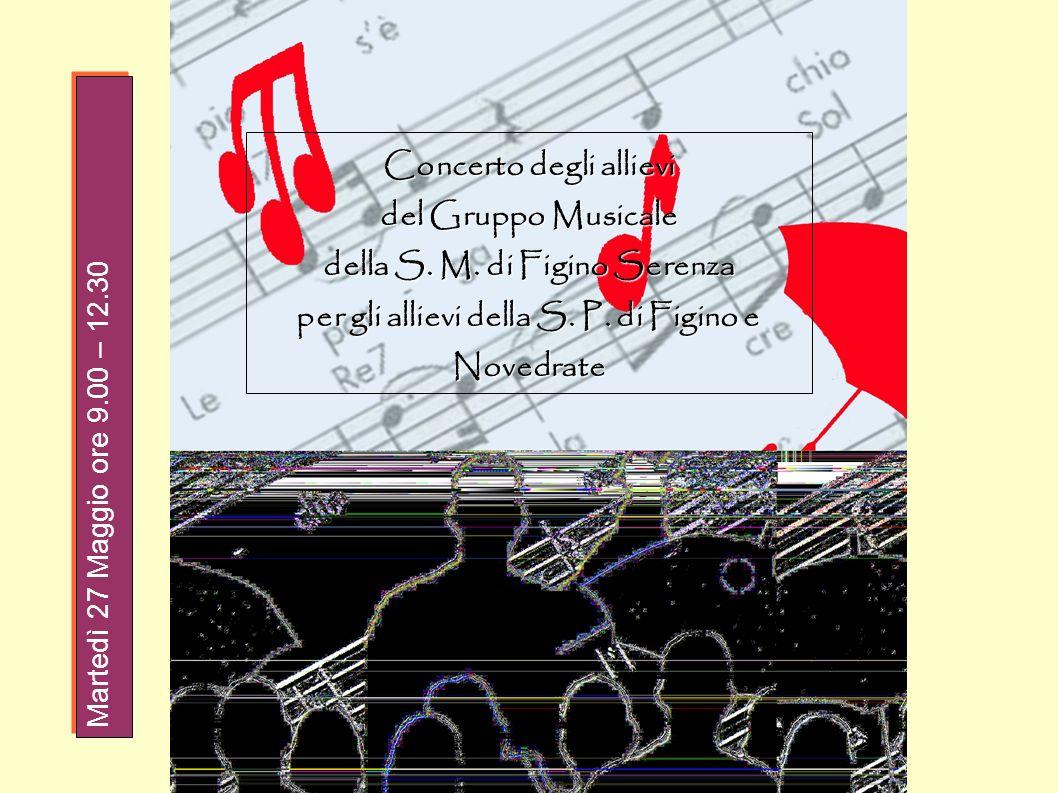 Concerto degli allievi del Gruppo Musicale