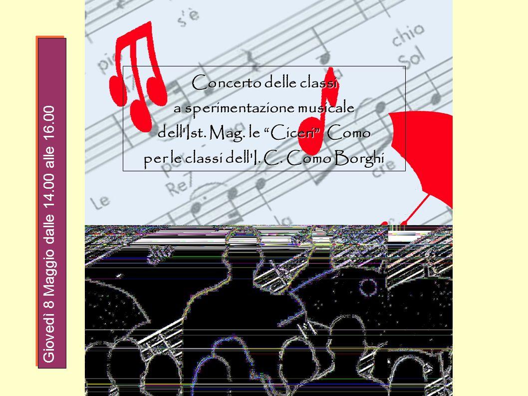 a sperimentazione musicale dell Ist. Mag. le Ciceri Como