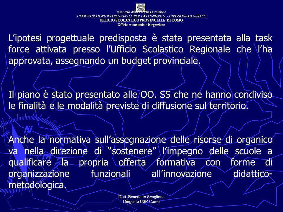 Dott. Benedetto Scaglione Dirigente USP Como