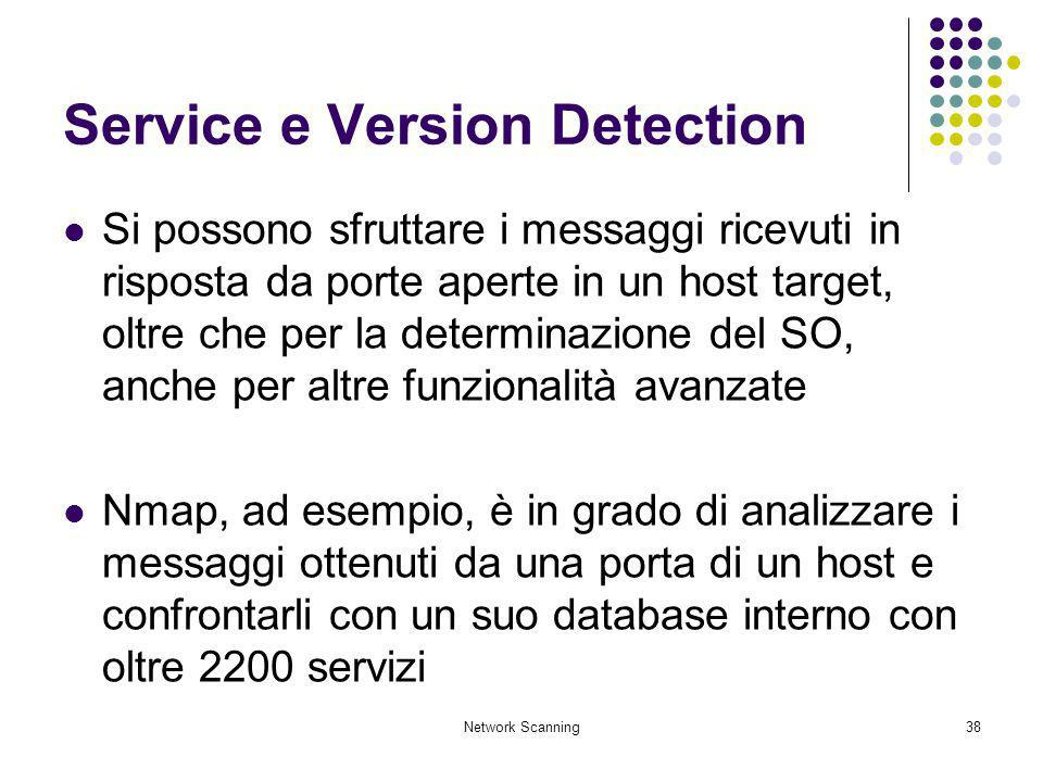 Service e Version Detection