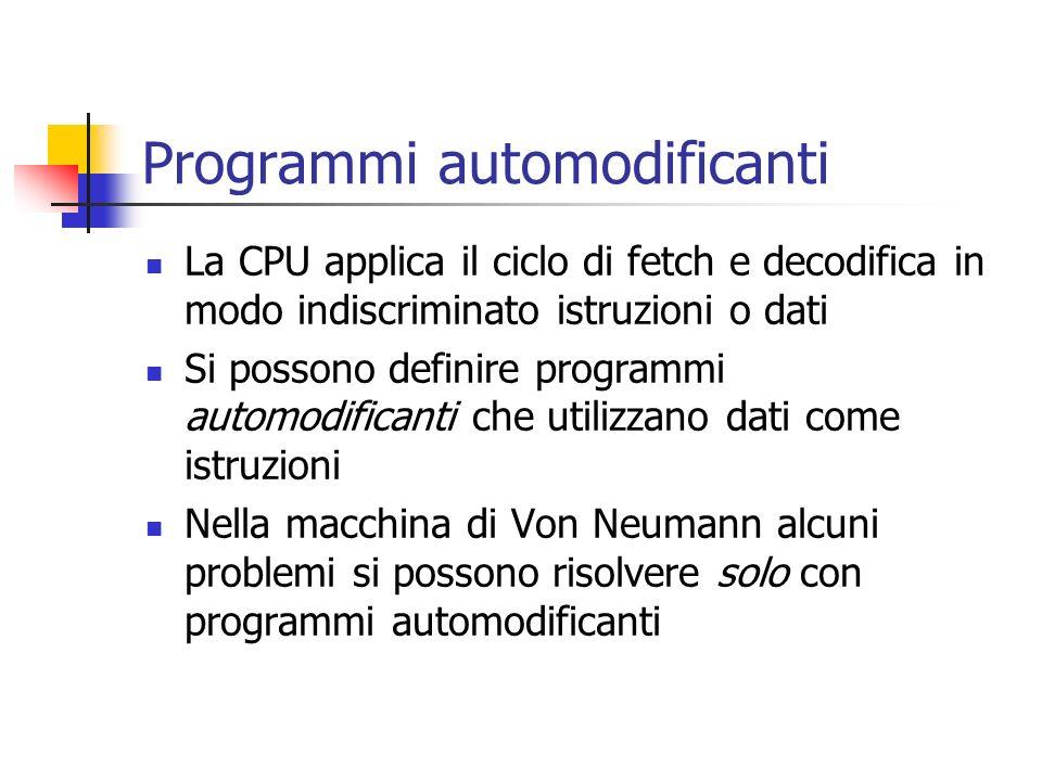 Programmi automodificanti