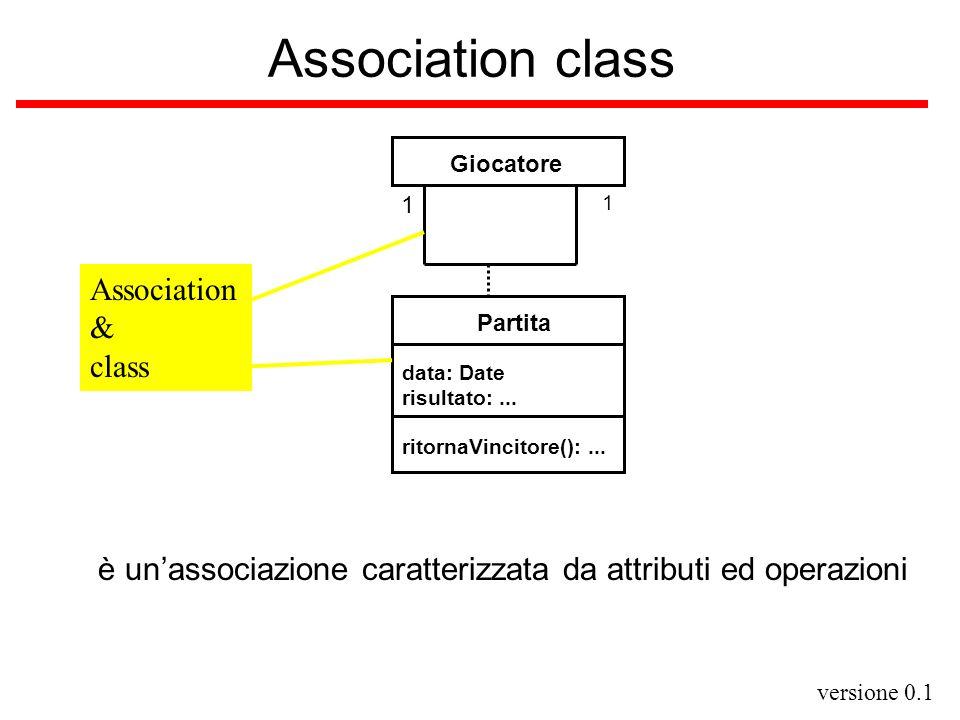 Association class Association & class