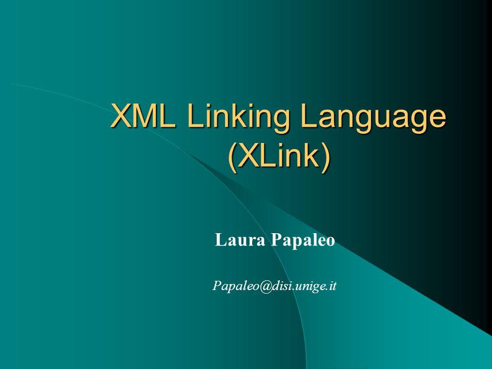 XML Linking Language (XLink)