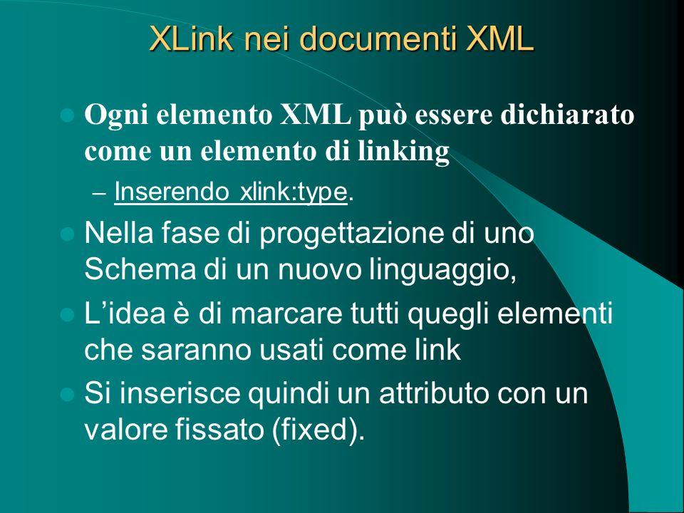 XLink nei documenti XML