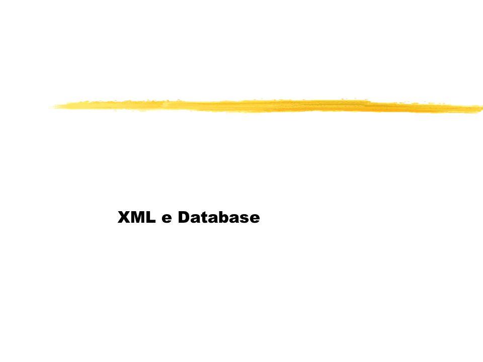 XML e Database