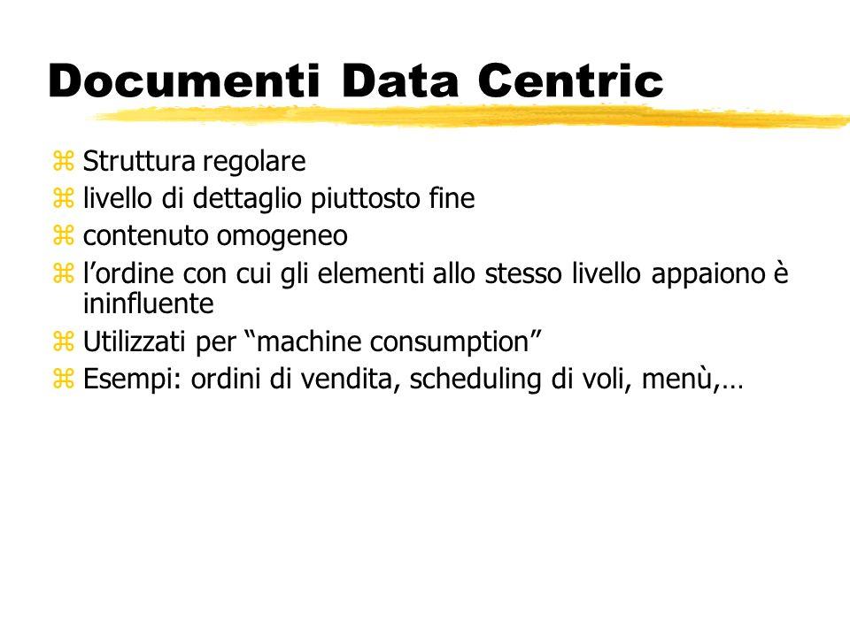 Documenti Data Centric