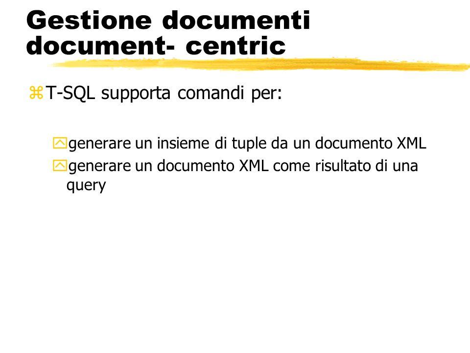 Gestione documenti document- centric