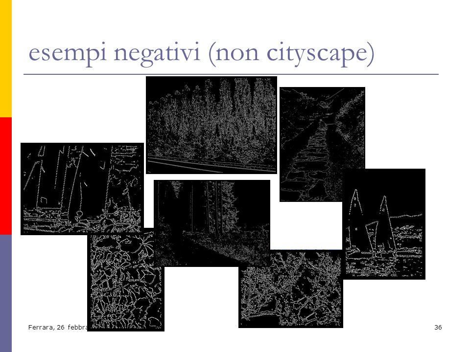 esempi negativi (non cityscape)