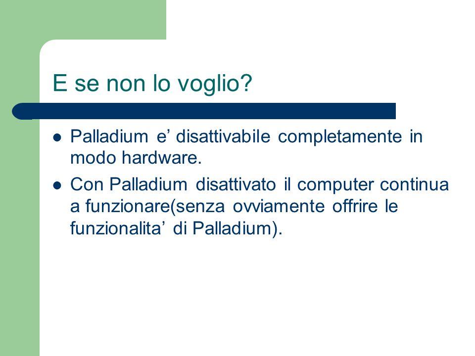 E se non lo voglio Palladium e' disattivabile completamente in modo hardware.