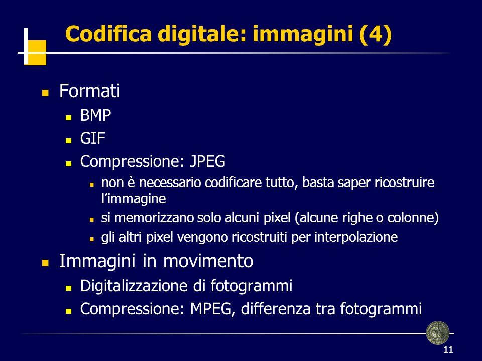 Codifica digitale: immagini (4)