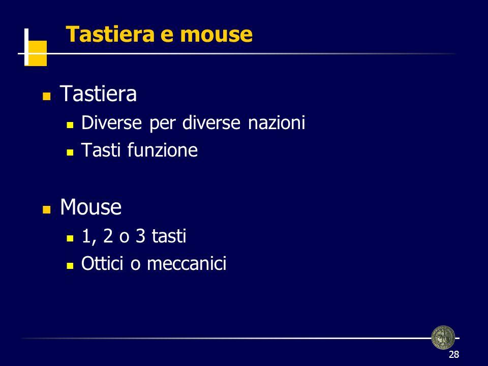 Tastiera e mouse Tastiera Mouse Diverse per diverse nazioni