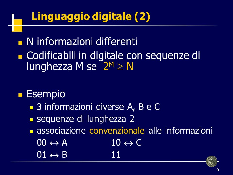 Linguaggio digitale (2)