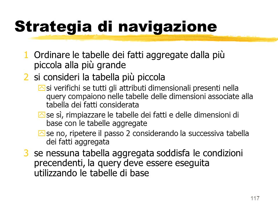 Strategia di navigazione