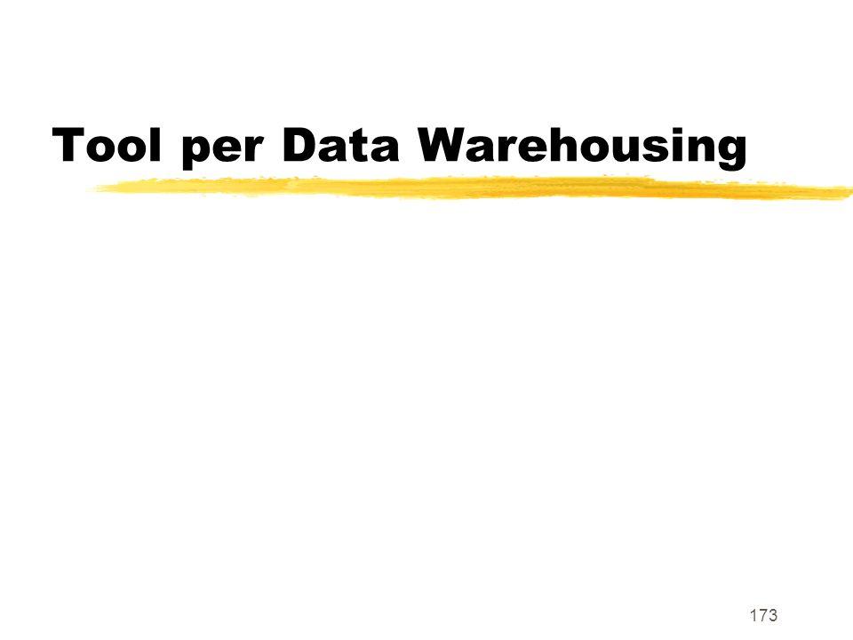 Tool per Data Warehousing