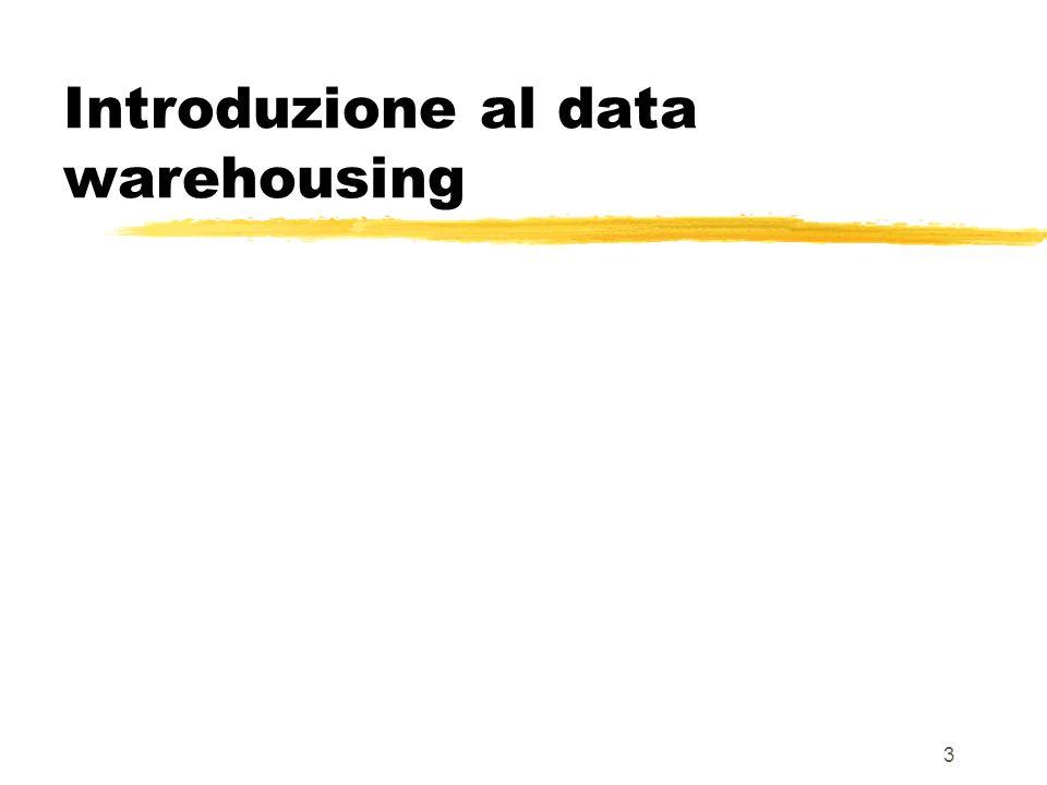 Introduzione al data warehousing