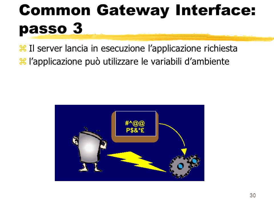 Common Gateway Interface: passo 3