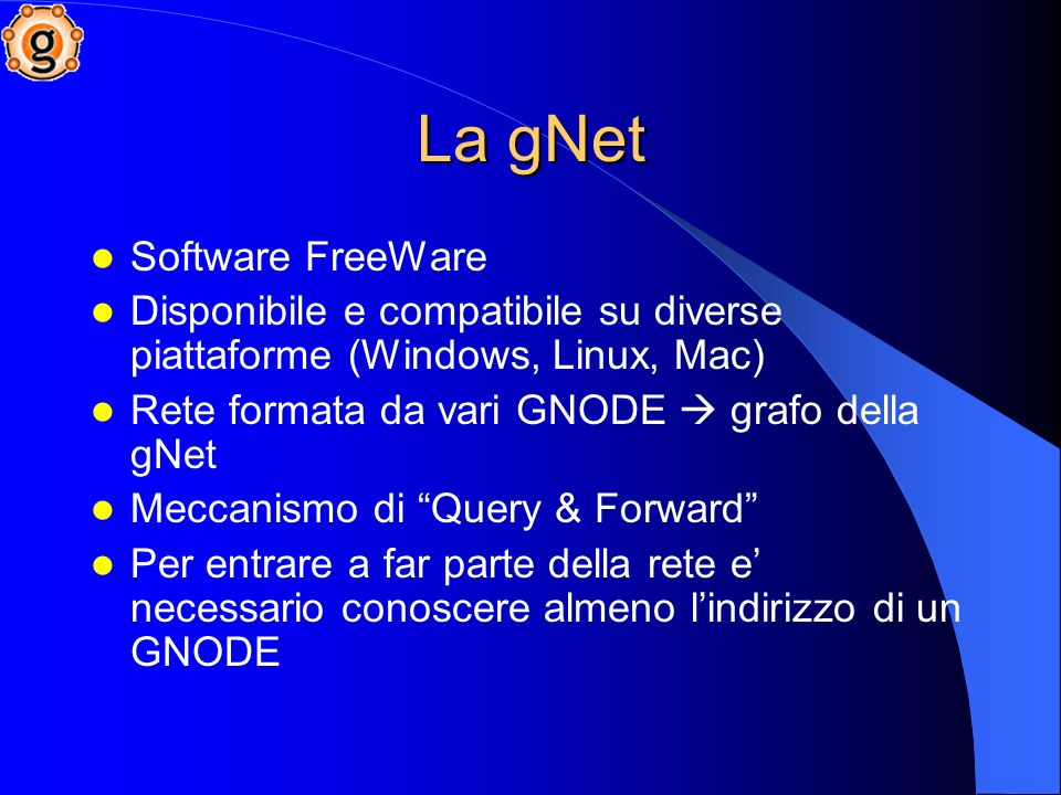 La gNet Software FreeWare