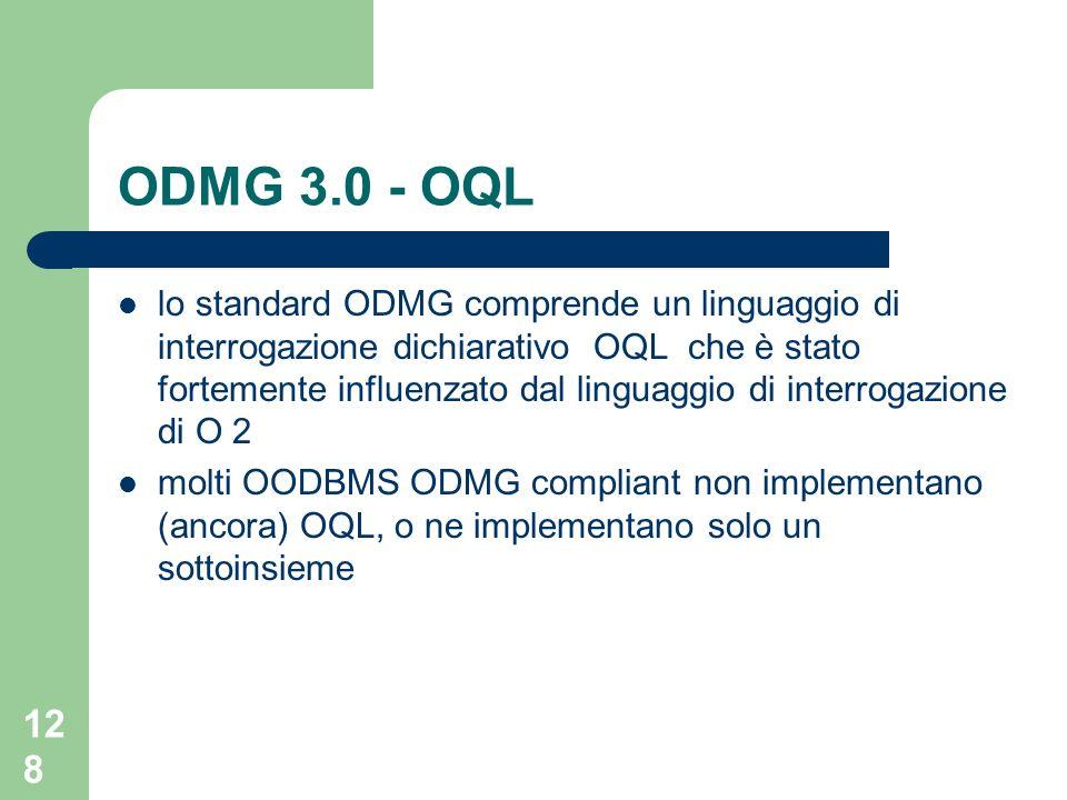 ODMG 3.0 - OQL