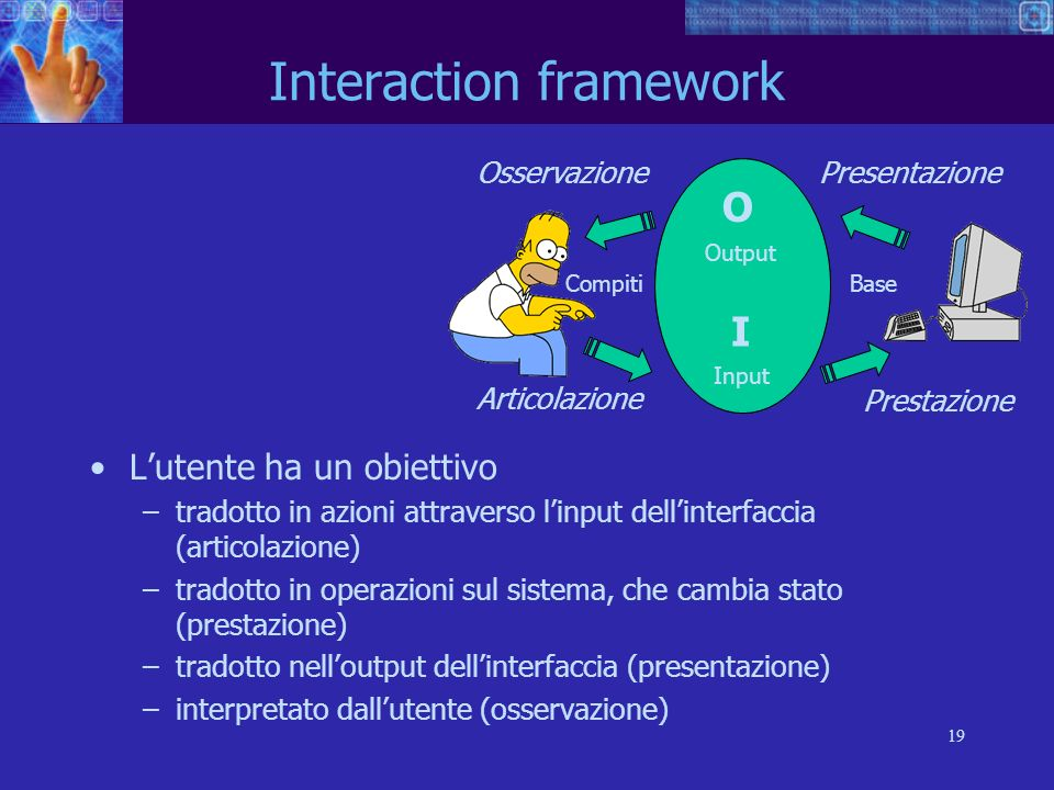 Interaction framework