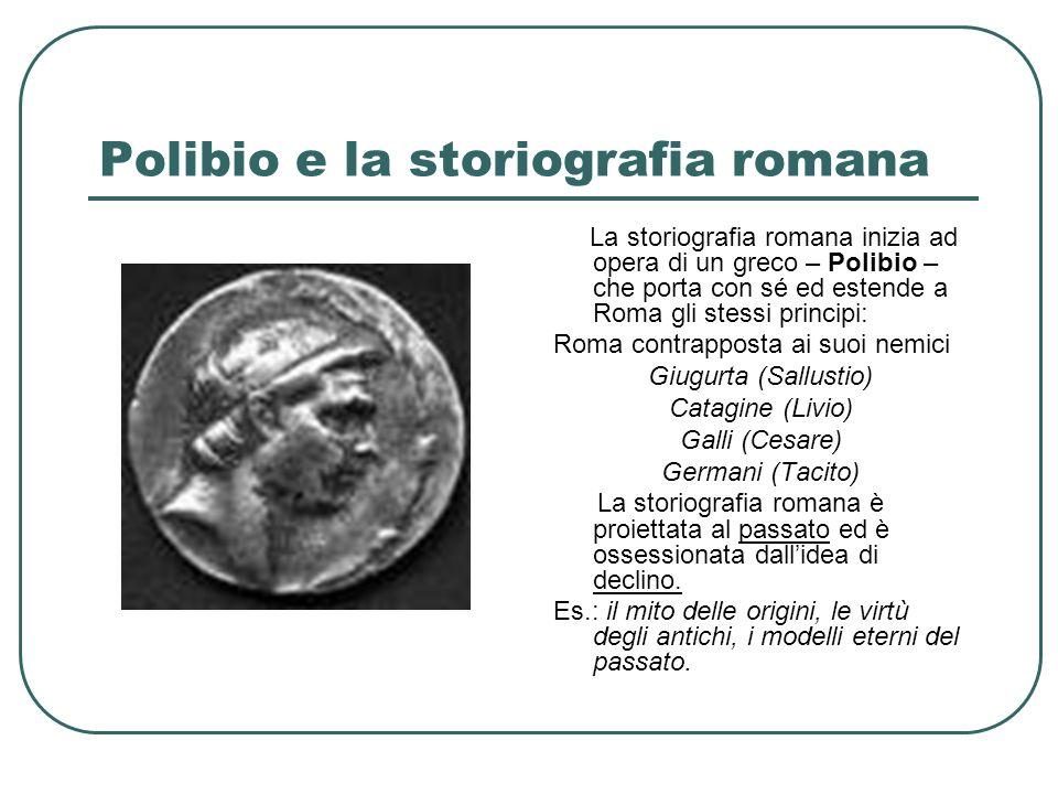 Polibio e la storiografia romana