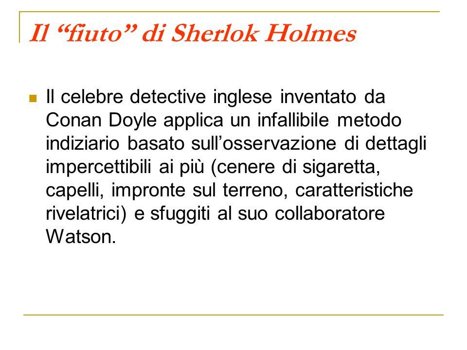 Il fiuto di Sherlok Holmes
