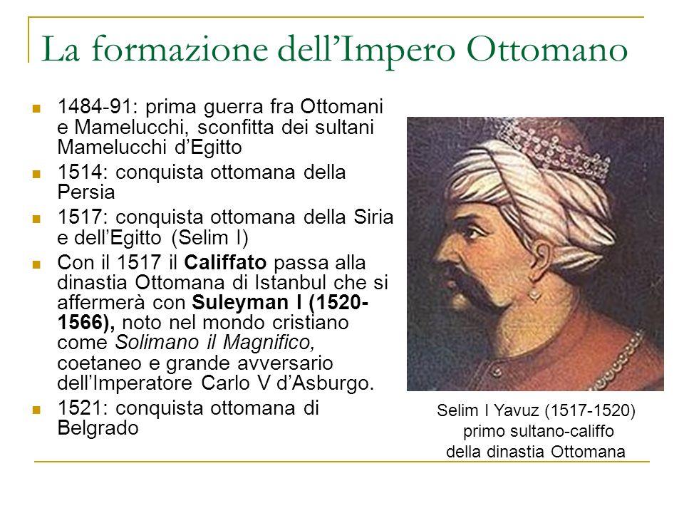 La formazione dell'Impero Ottomano