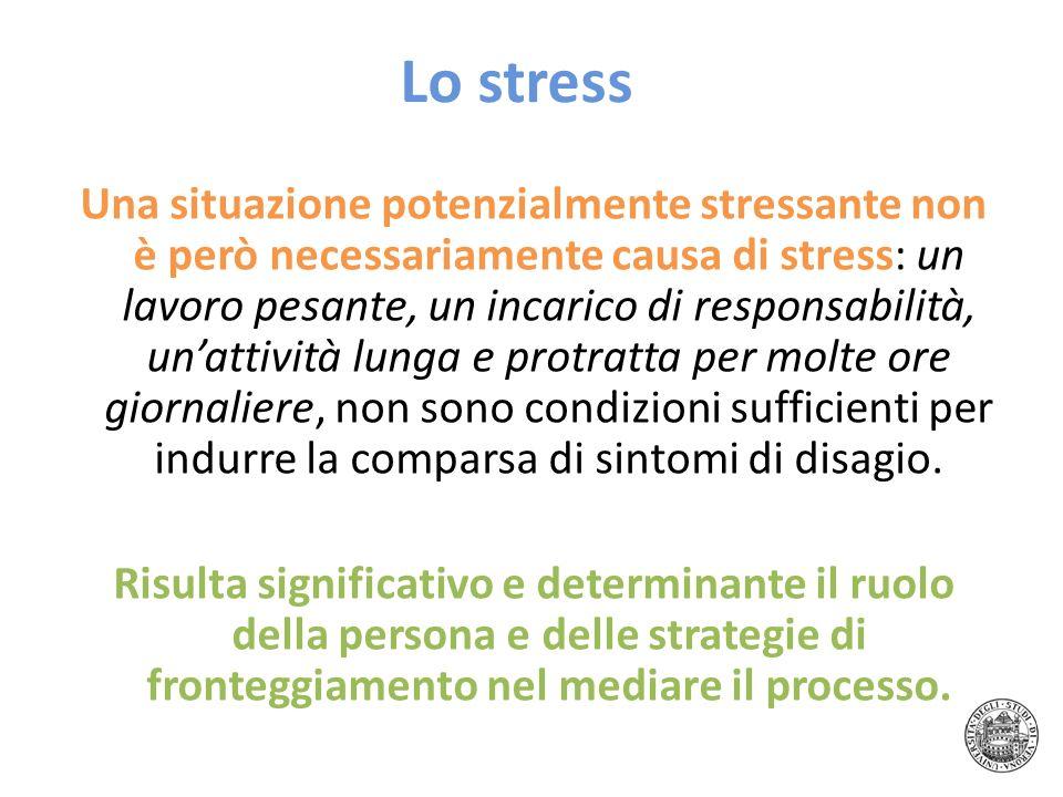 Lo stress