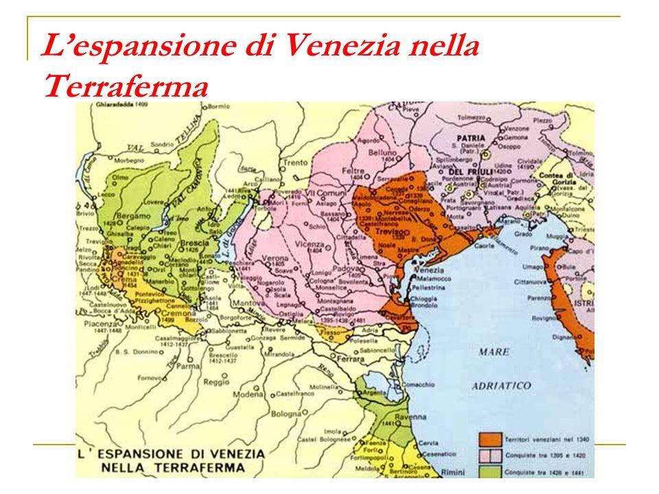 L'espansione di Venezia nella Terraferma