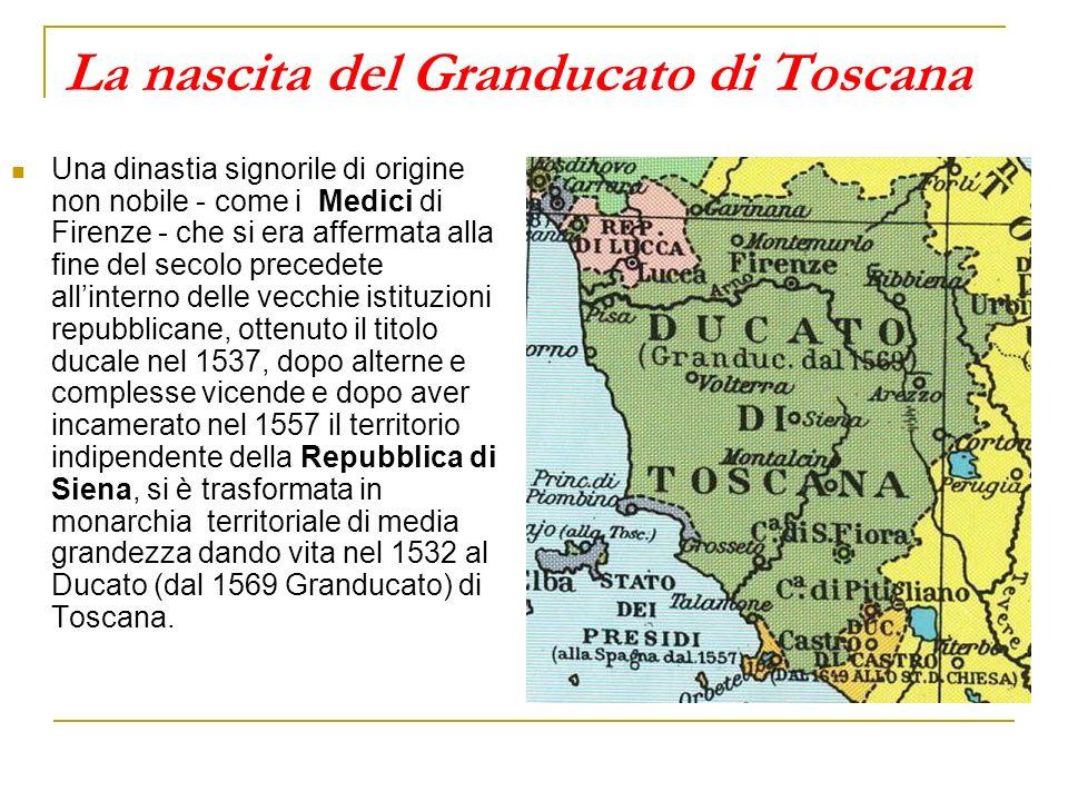La nascita del Granducato di Toscana