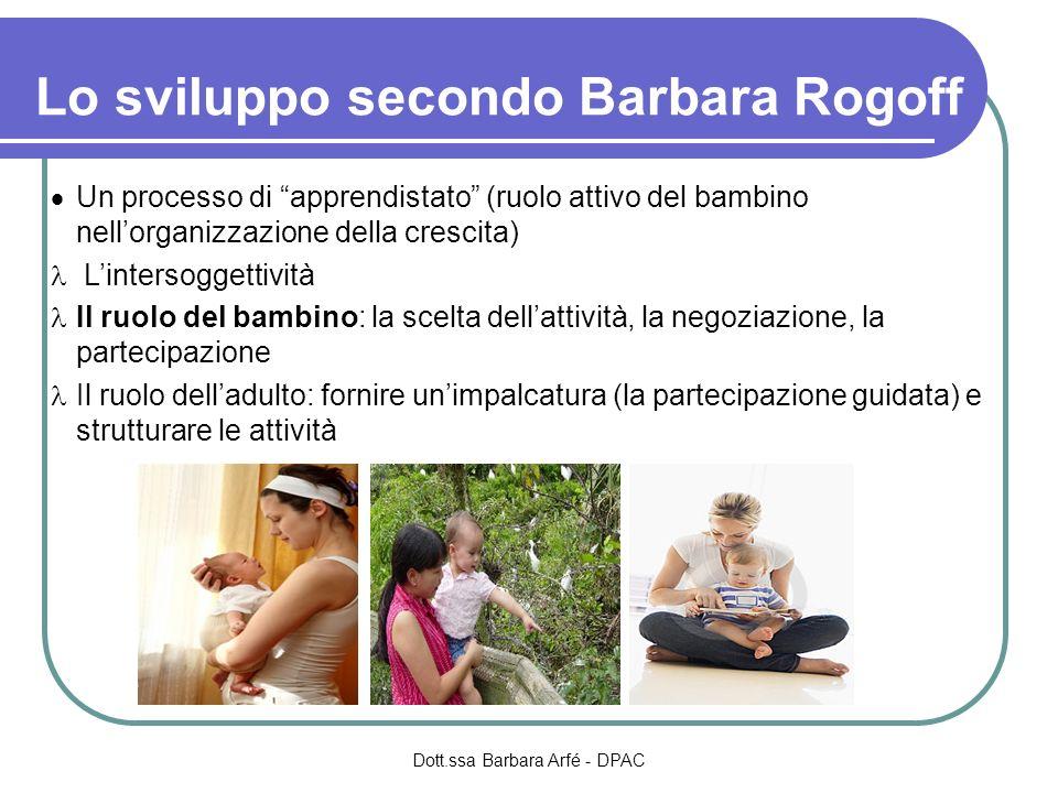 Dott.ssa Barbara Arfé - DPAC