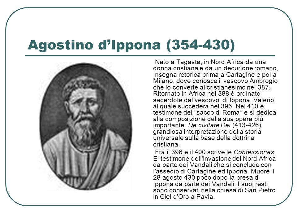 Agostino d'Ippona (354-430)