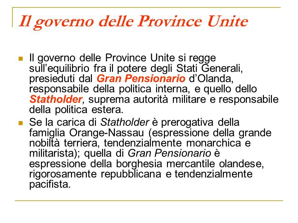 Il governo delle Province Unite