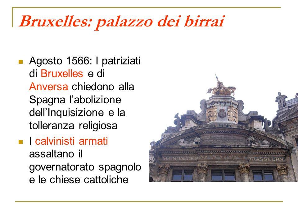 Bruxelles: palazzo dei birrai