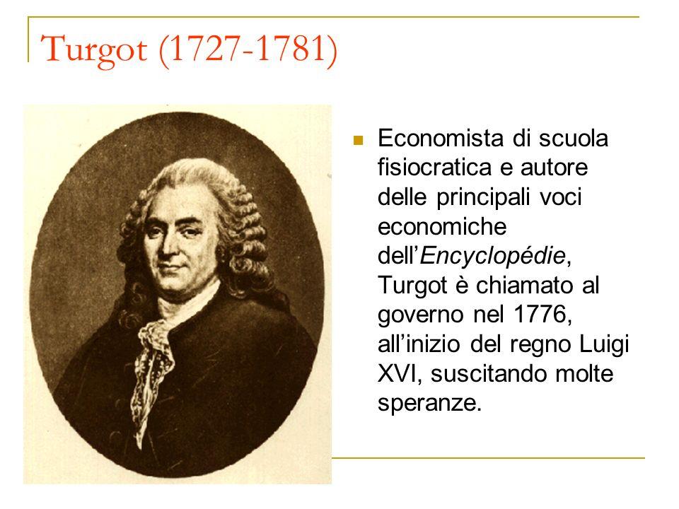 Turgot (1727-1781)