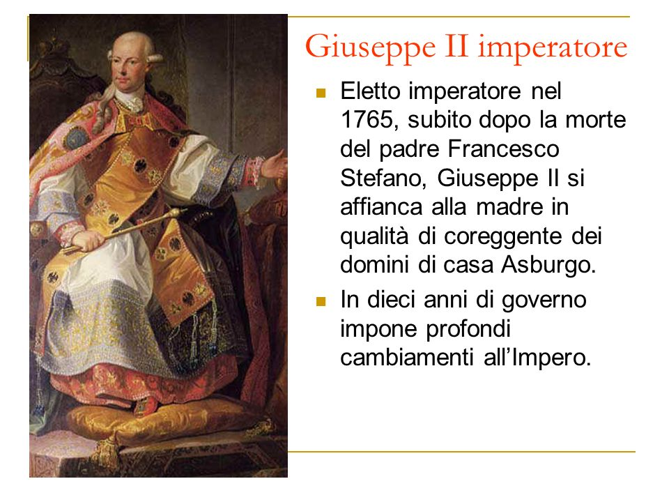 Giuseppe II imperatore