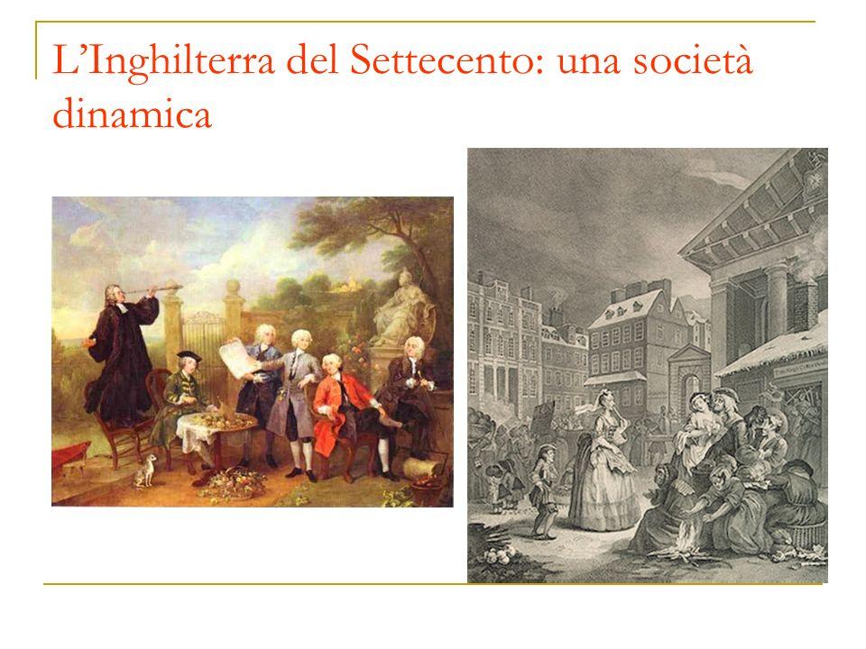 L'Inghilterra del Settecento: una società dinamica