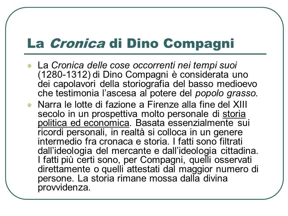 La Cronica di Dino Compagni
